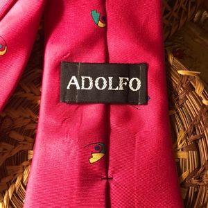 Adolfo Accessories - 59 in Adolfo Silk Mens Tie